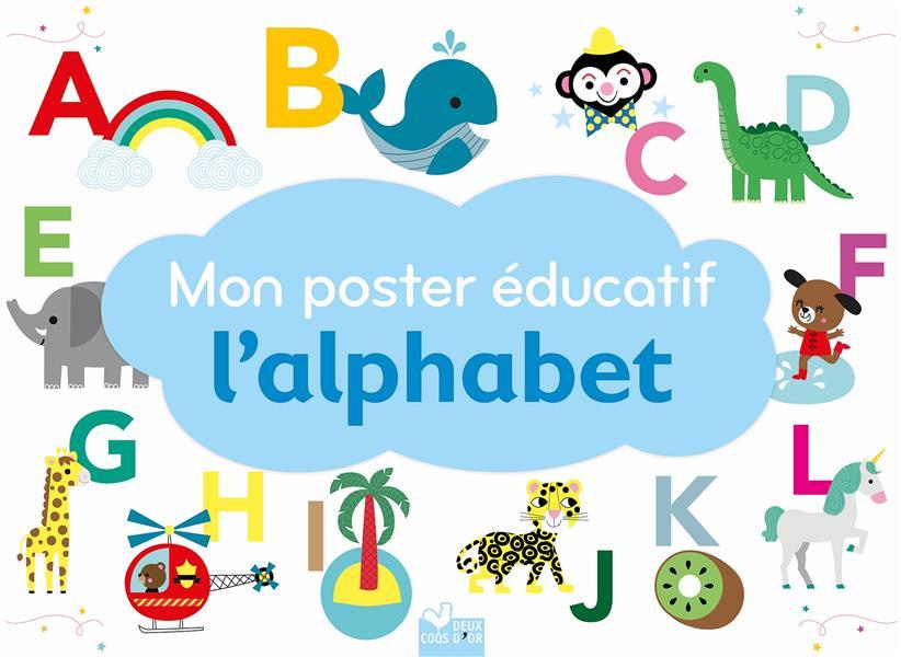 MON POSTER EDUCATIF L'ALPHABET