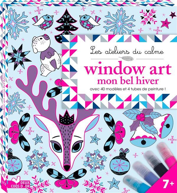 WINDOW ART MON BEL HIVER - BOITE AVEC ACCESSOIRES