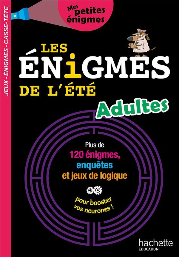 LES ENIGMES DE L'ETE ADULTES
