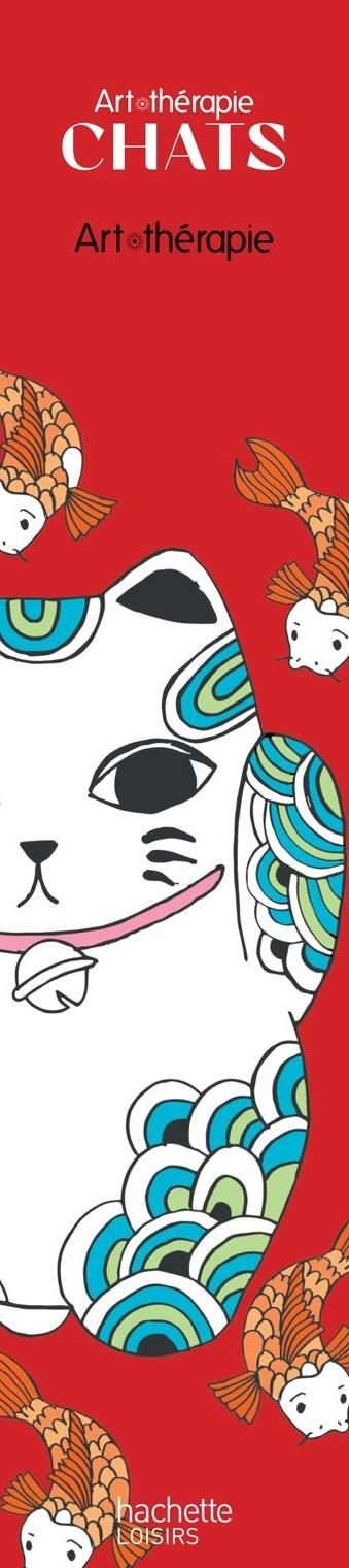 MARQUE-PAGES ART-THERAPIE CHATS