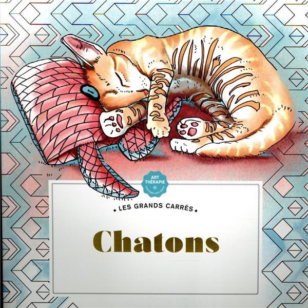 LES GRANDS CARRES D'ART-THERAPIE CHATONS