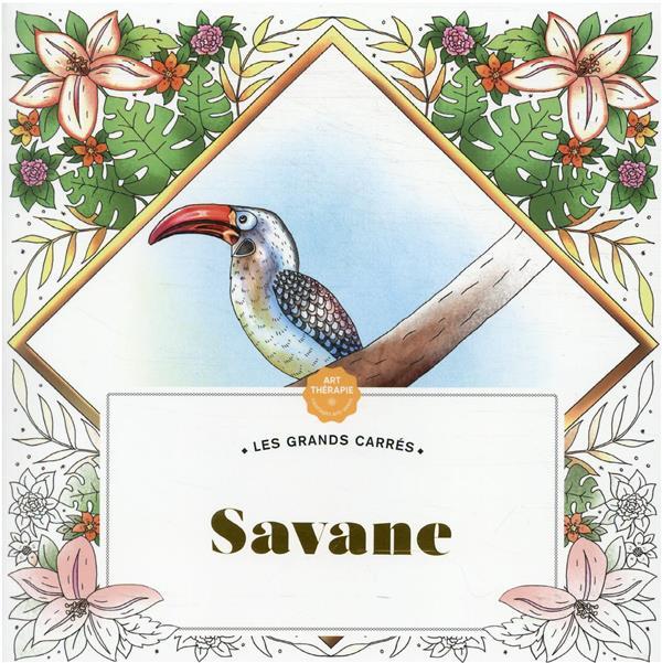 LES GRANDS CARRES D'ART-THERAPIE SAVANE