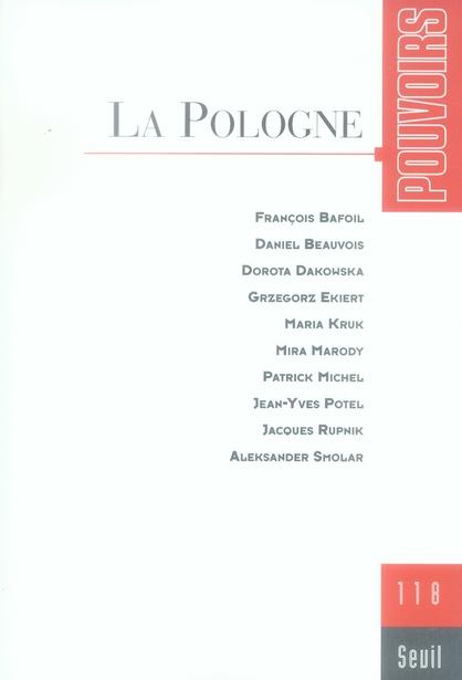 POUVOIRS, N  118, LA POLOGNE