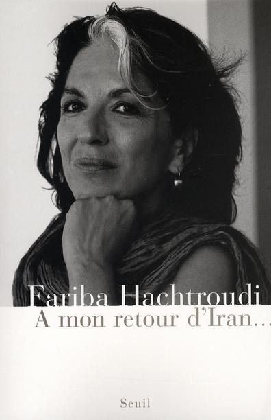 A MON RETOUR D'IRAN...