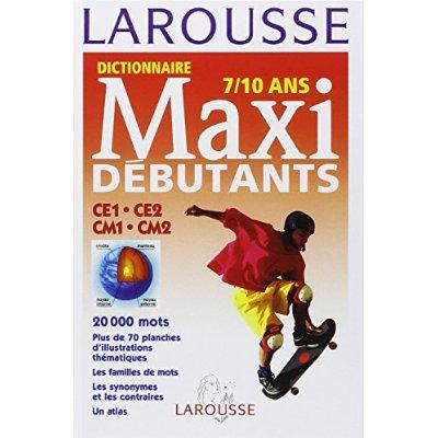 LAROUSSE MAXI DEBUTANTS