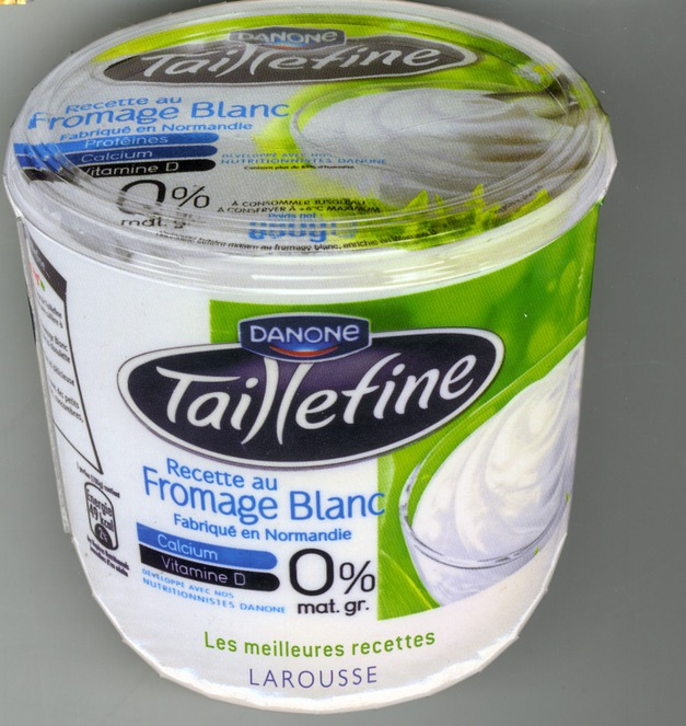 TAILLEFINE 0% - RECETTE AU FROMAGE BLANC