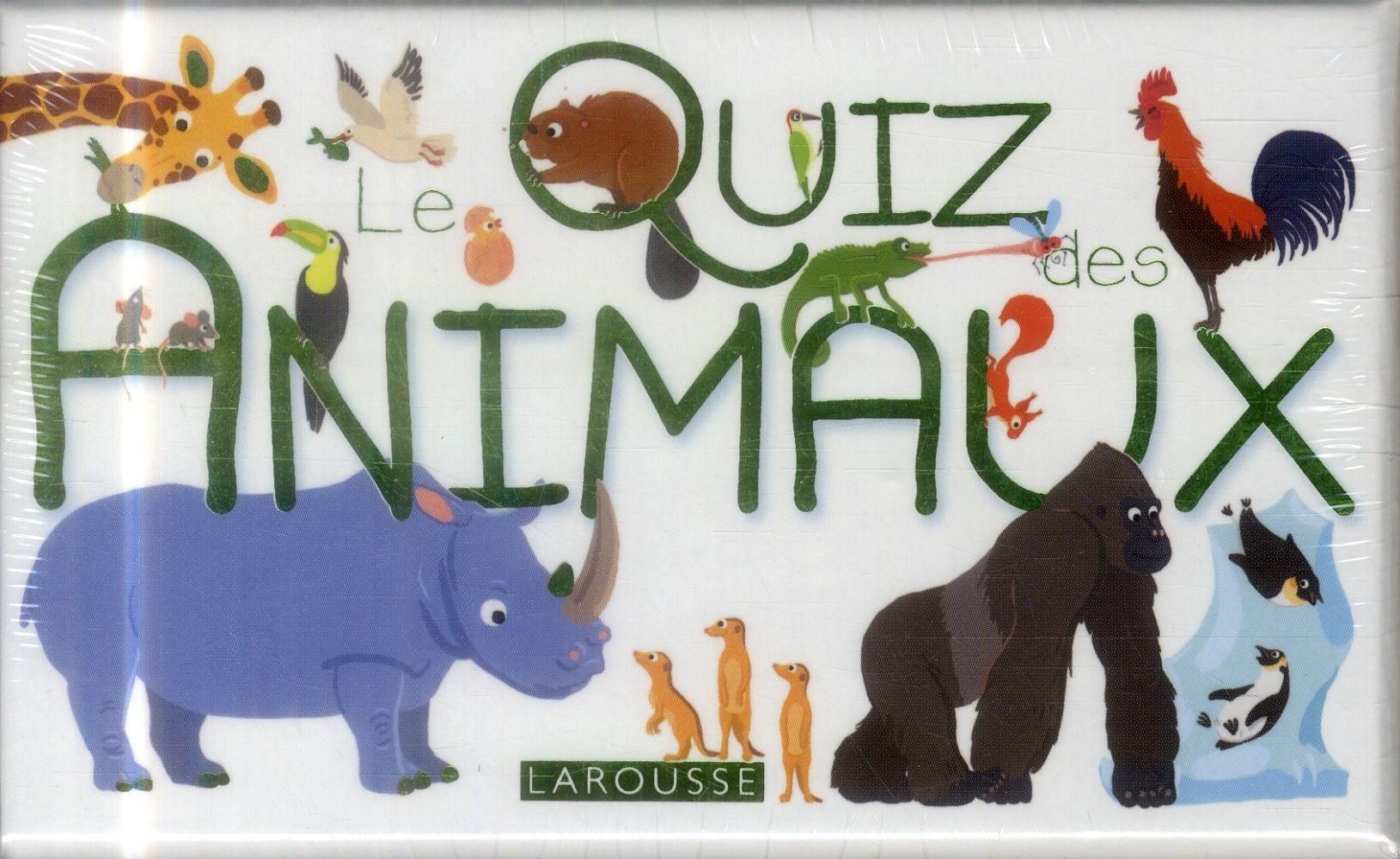 QUIZ DES ANIMAUX