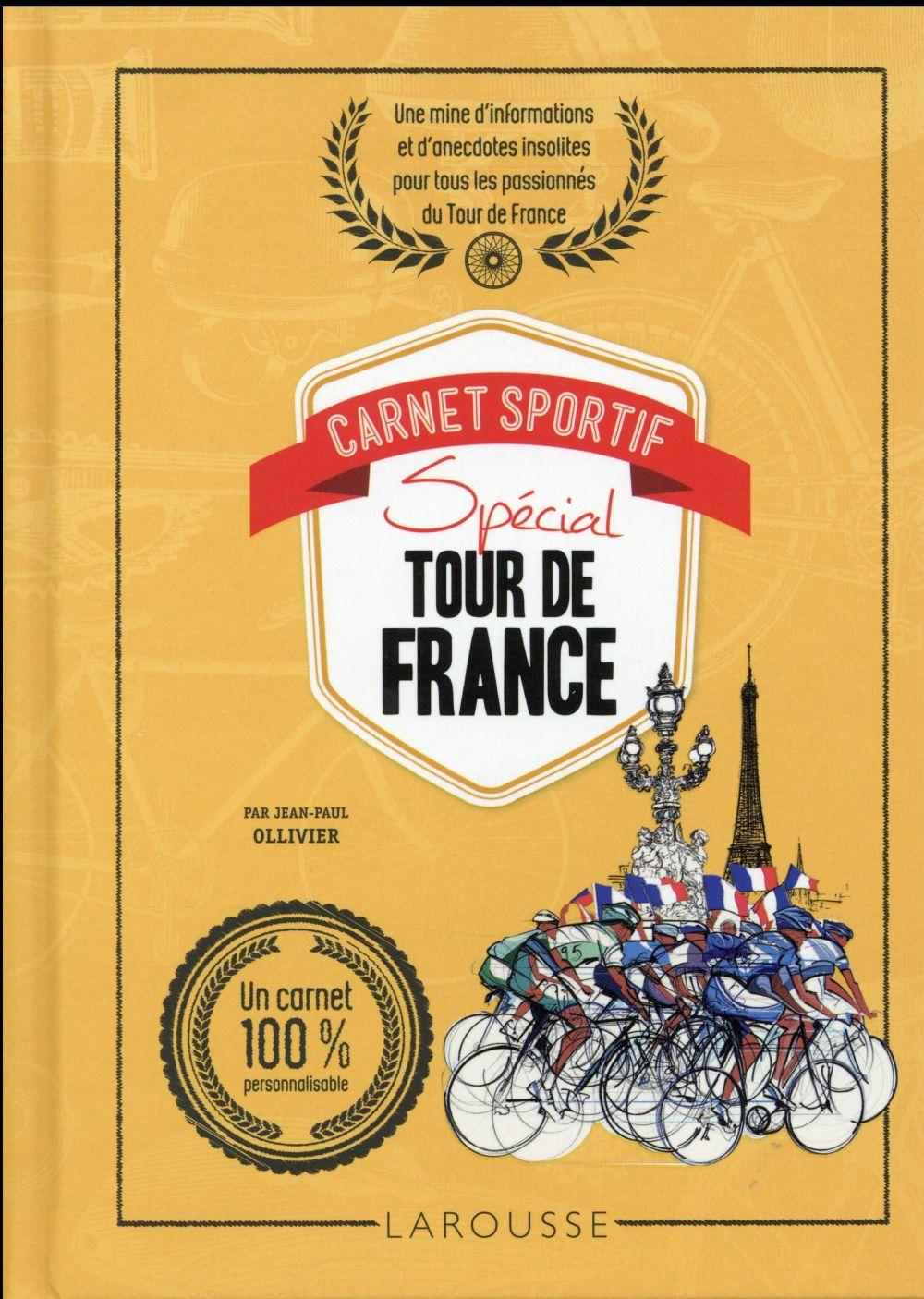 CARNET SPORTIF SPECIAL TOUR DE FRANCE