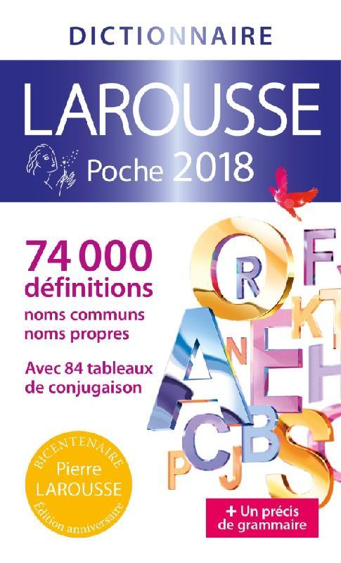 LAROUSSE DE POCHE 2018