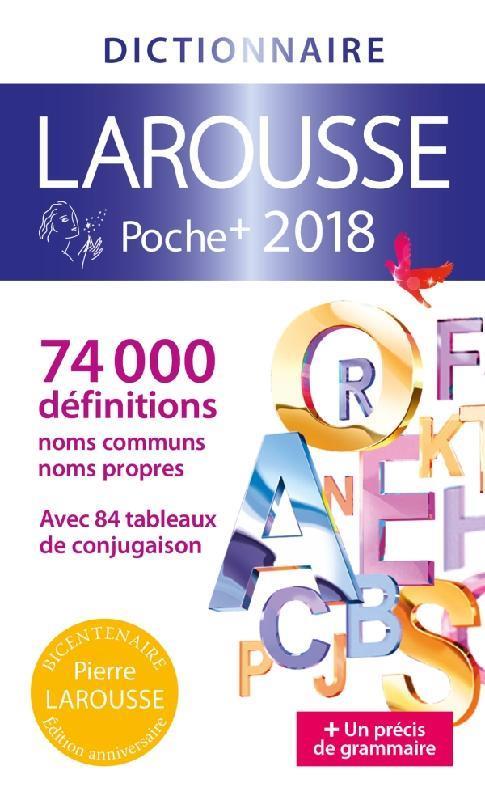 LAROUSSE DE POCHE PLUS 2018