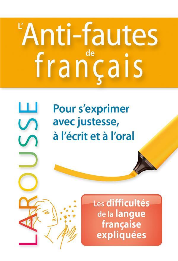L'ANTI-FAUTES DE FRANCAIS