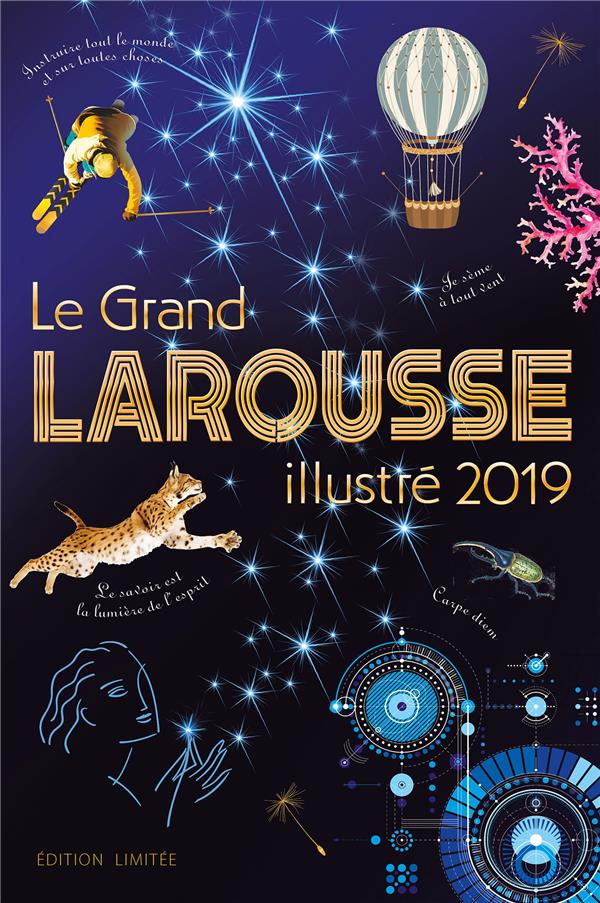 LE GRAND LAROUSSE ILLUSTRE 2019 NOEL