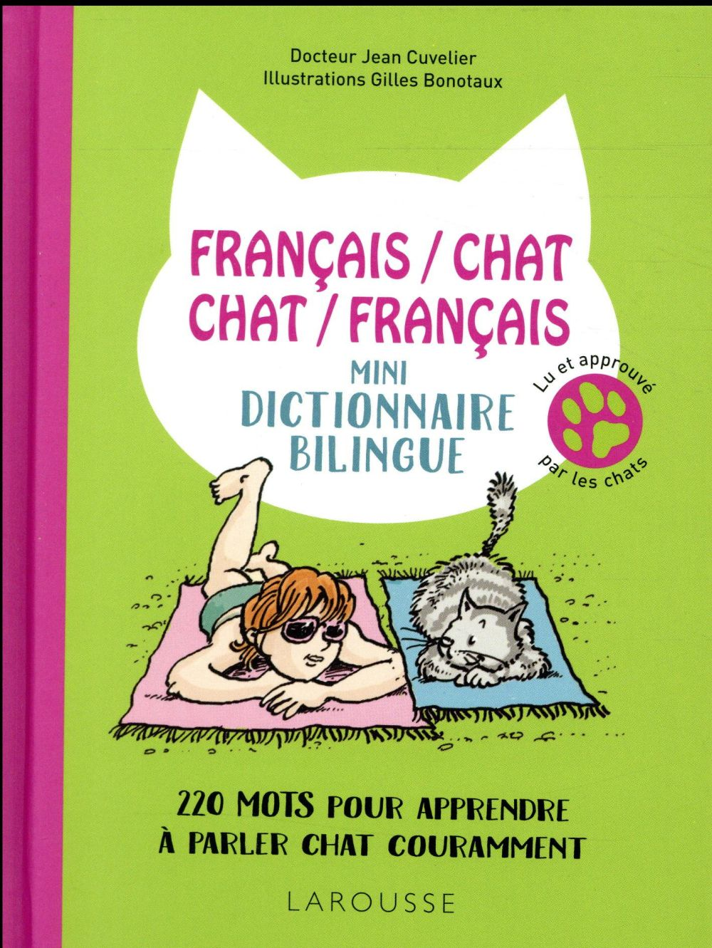 FRANCAIS/CHAT-CHAT/FRANCAIS-MINI-DICTIONNAIRE BILINGUE - 200 MOTS POUR APPRENDRE A PARLER CHAT COURA