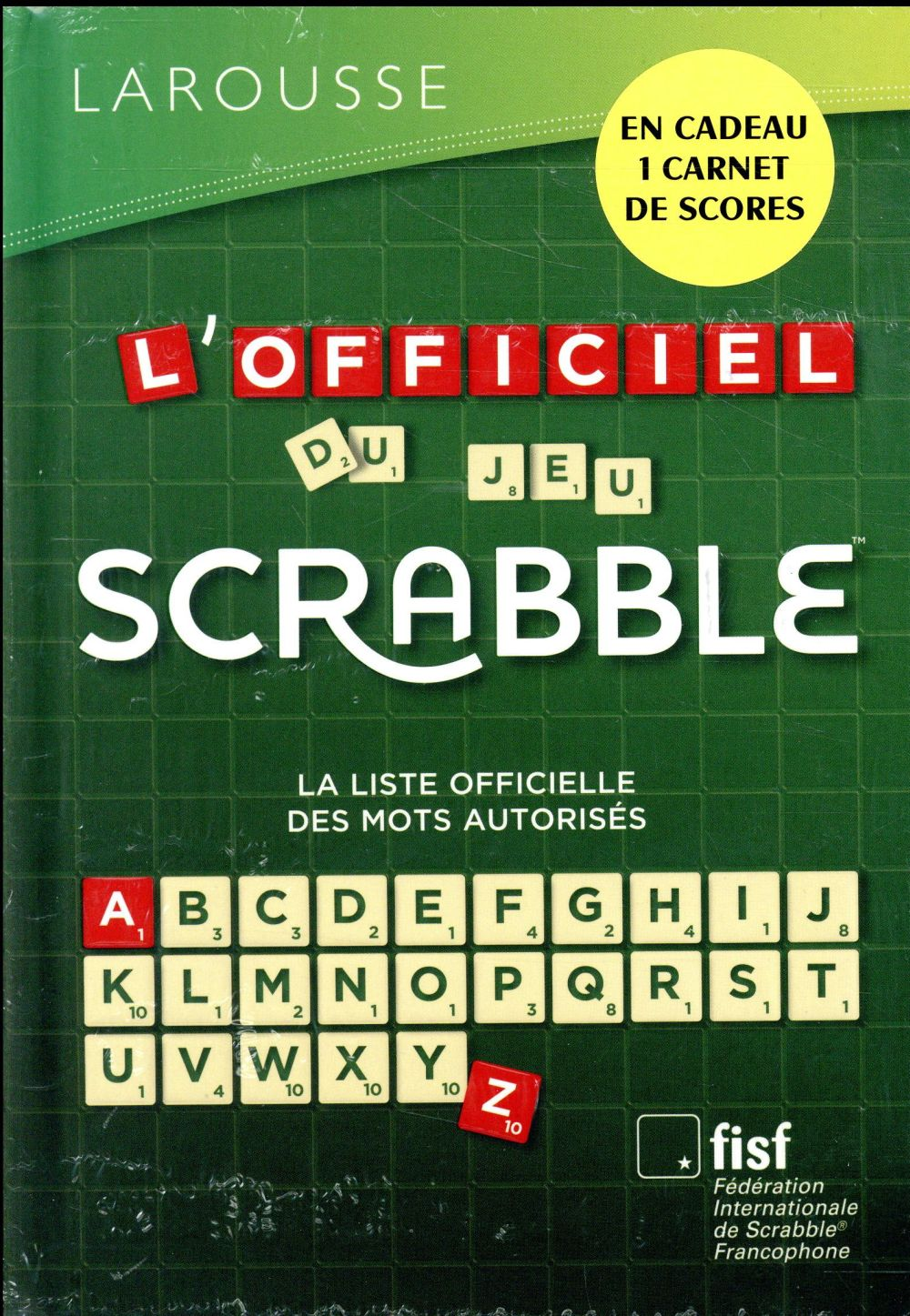 OFFICIEL DU SCRABBLE PRIME ETE