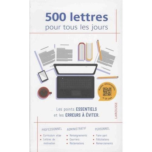 500 LETTRES POUR TOUS LES JOURS