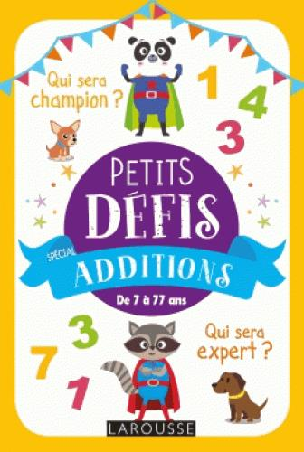 PETITS DEFIS, SPECIAL ADDITIONS