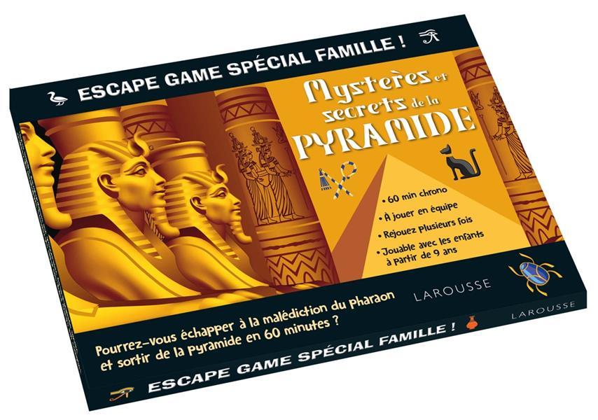 ESCAPE GAME SPECIAL FAMILLE - LES MYSTERES DE LA PYRAMIDE