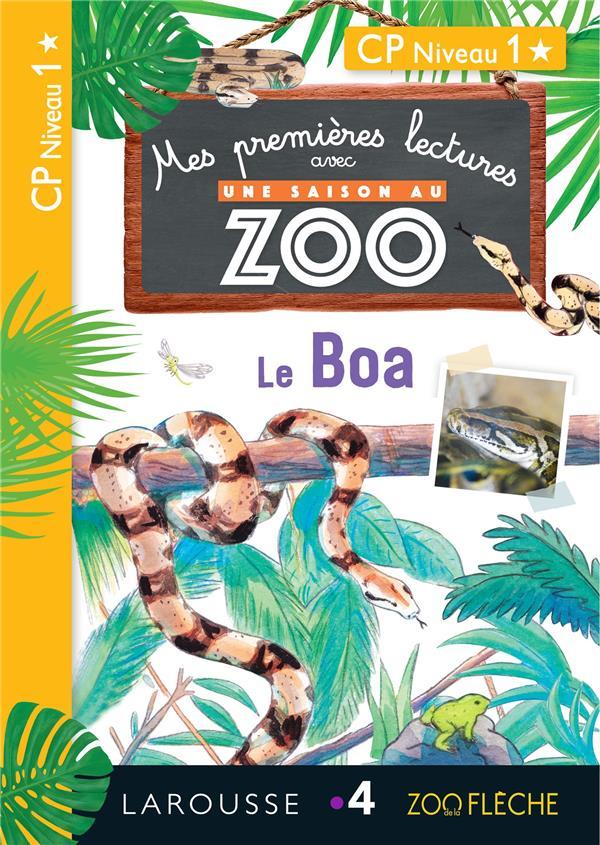 1ERES LECTURES UNE SAISON AU ZOO - LE BOA