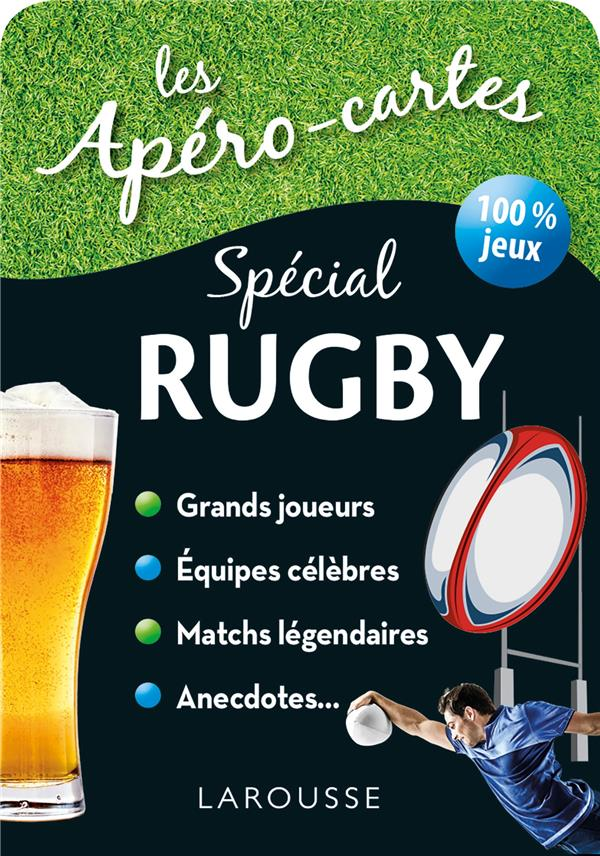 APERO CARTES RUGBY ET SPORTS