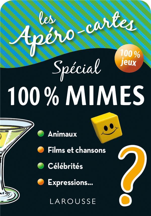 APERO-CARTES 100% MIMES ET DEVINETTES
