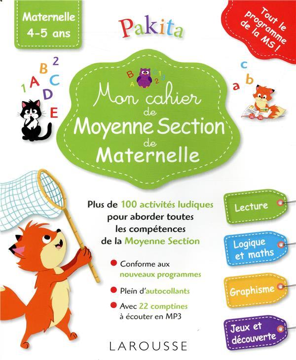MON GRAND CAHIER DE MOYENNE SECTION