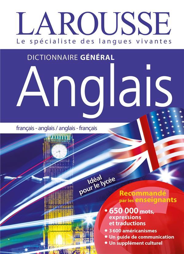 DICTIONNAIRE GENERAL FRANCAIS-ANGLAIS