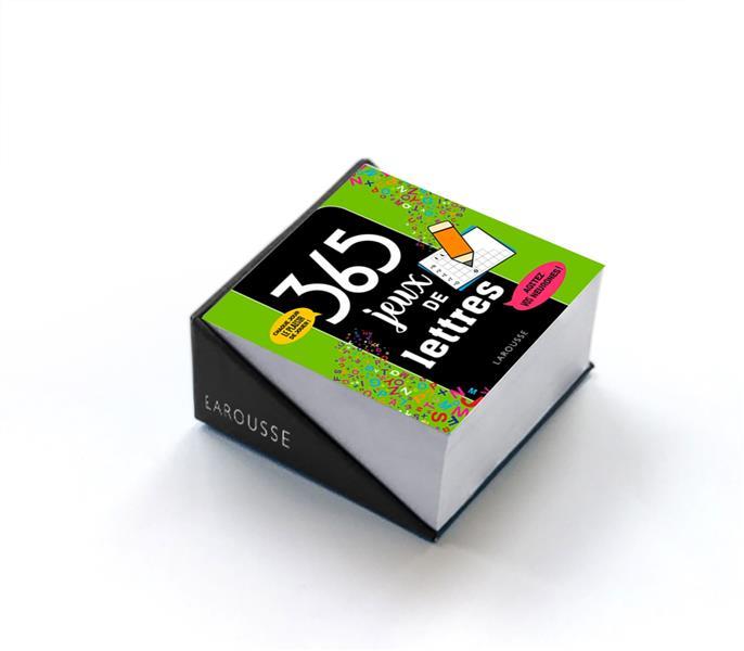 365 JEUX DE LETTRES