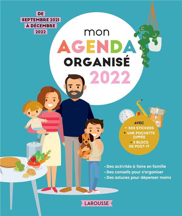 MON AGENDA ORGANISE 2022