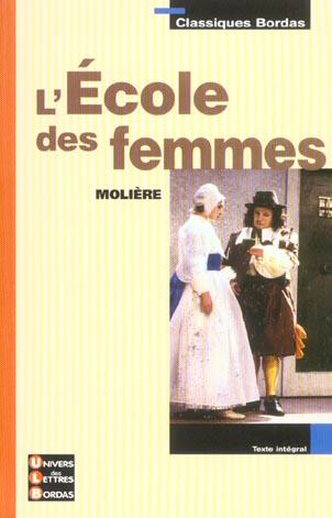 ECOLE DES FEMMES