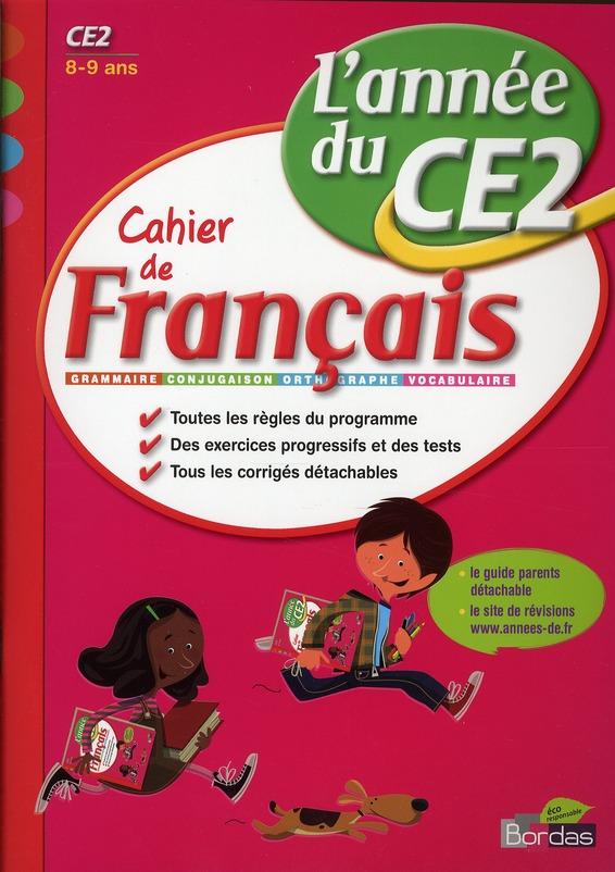 CAH ENTRAIN ANNEE FRANC CE2