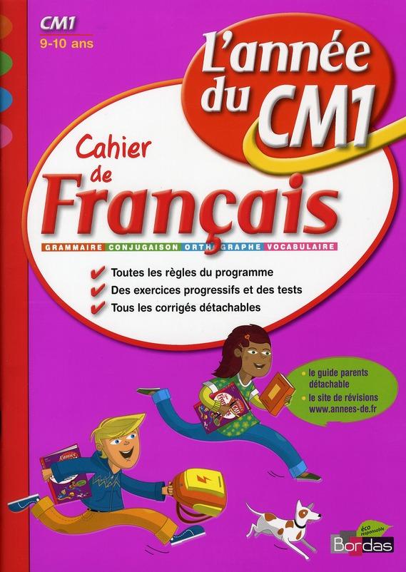 CAH ENTRAIN ANNEE FRANC CM1