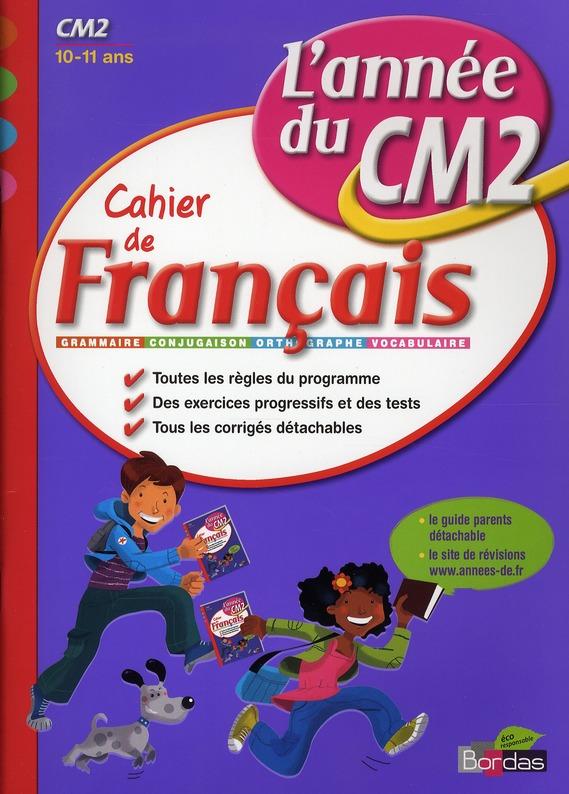 CAH ENTRAIN ANNEE FRANC CM2