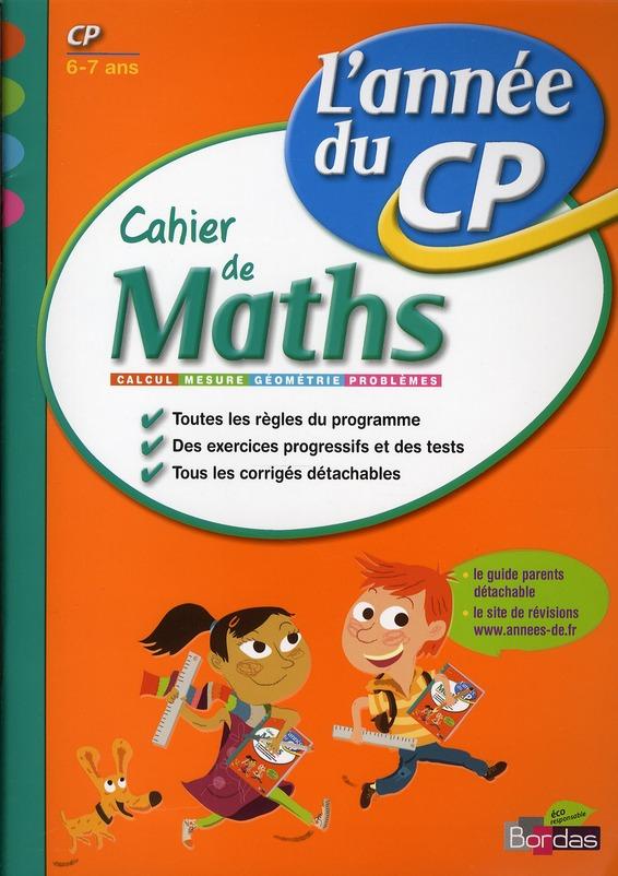 CAH ENTRAIN ANNEE MATHS CP