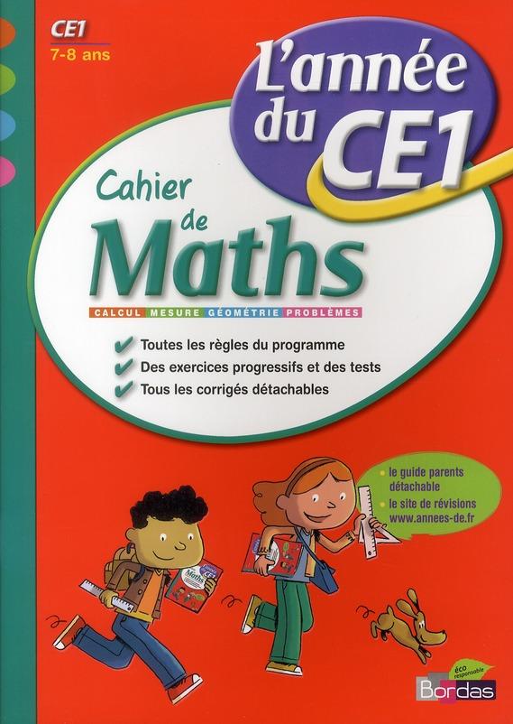 CAH ENTRAIN ANNEE MATHS CE1