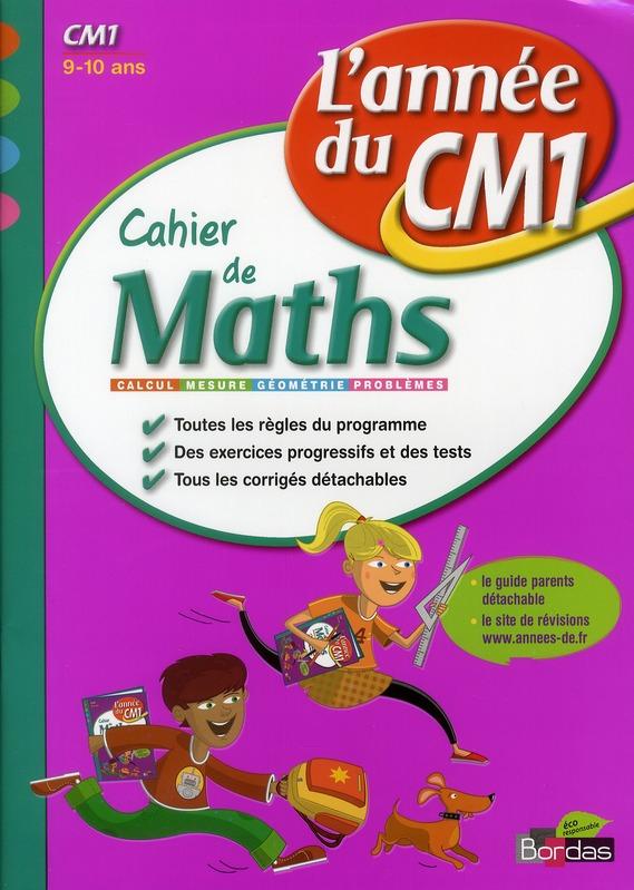 CAH ENTRAIN ANNEE MATHS CM1
