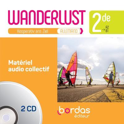 WANDERLUST ALLEMAND 2DE 2019 - MATERIEL AUDIO COLLECTIF