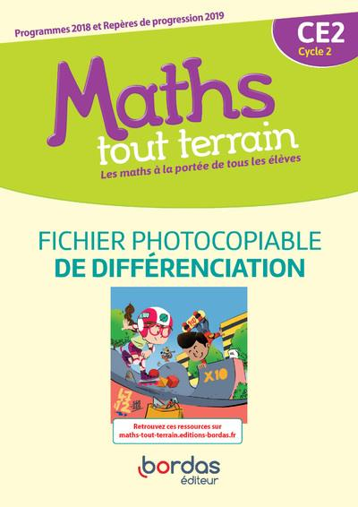 MATHS TOUT TERRAIN CE2 2020 FICHIER PHOTOCOPIABLE DE DIFFERENCIATION