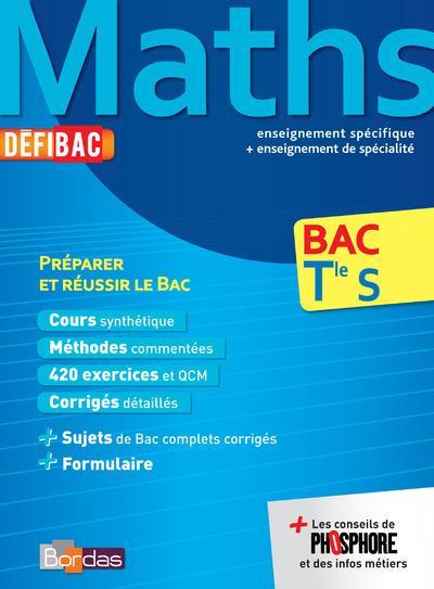 DEFIBAC MATHS TLE S