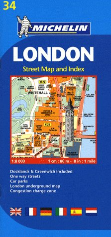 LONDON - STREET MAP AND INDEX