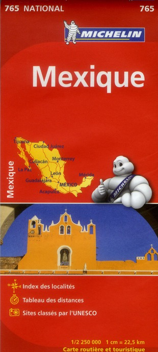 CARTE NATIONALE 765 MEXIQUE
