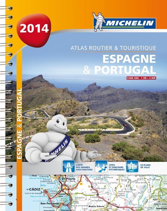 ESPAGNE & PORTUGAL  2014 - ATLAS ROUTIER ET TOURISTIQUE