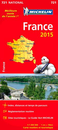 CARTE NATIONALE FRANCE 2015