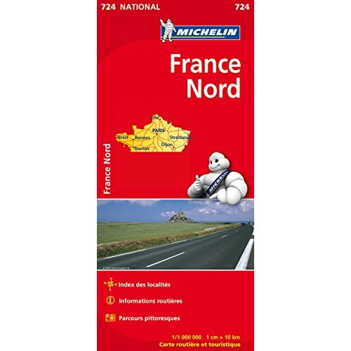 CARTE NATIONALE 724 FRANCE NORD