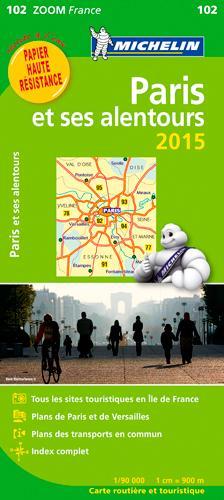 CARTE ZOOM PARIS ET SES ALENTOURS 2015