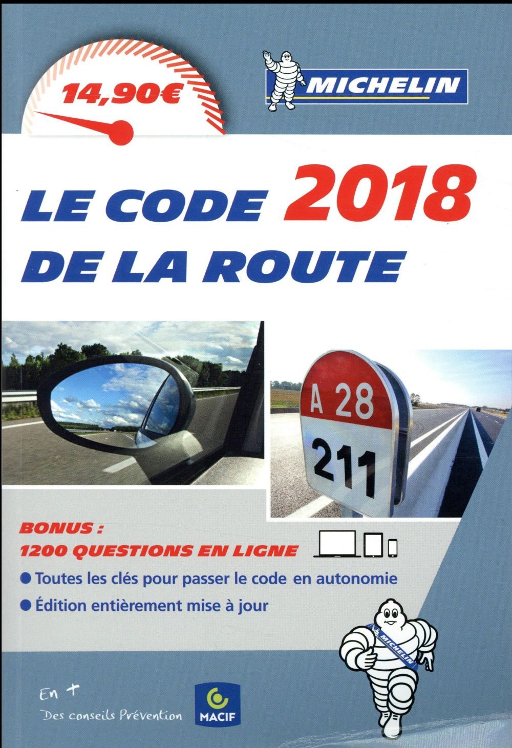 CODE DE LA ROUTE MICHELIN 2018