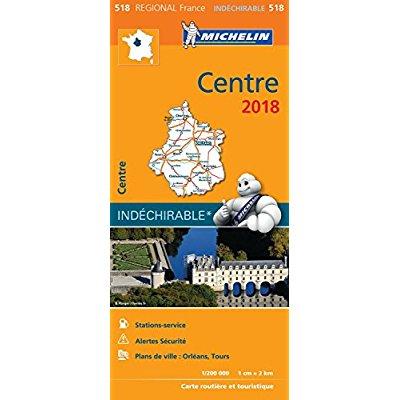 CARTE REGIONALE 518 CENTRE 2018