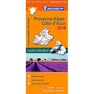 CARTE REGIONALE 527 PROVENCE ALPES COTE D AZUR 18