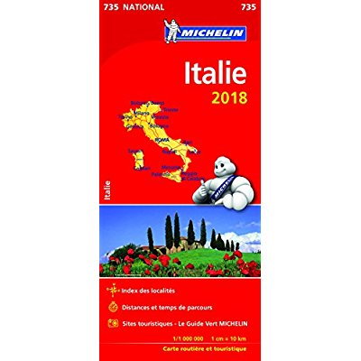 CARTE NATIONALE 735 ITALIE 2018