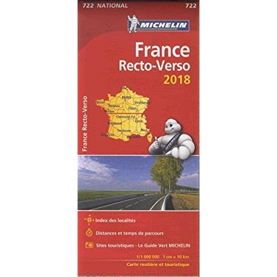 CARTE NATIONALE 722 FRANCE RECTO-VERSO 2018