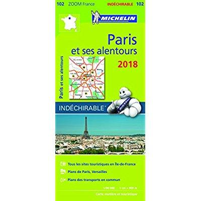 CARTE ZOOM 102 PARIS ET SES ALENTOURS 2018